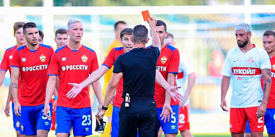 Игорь Корнеев: «Красная карточка Набабкина была заслуженной»