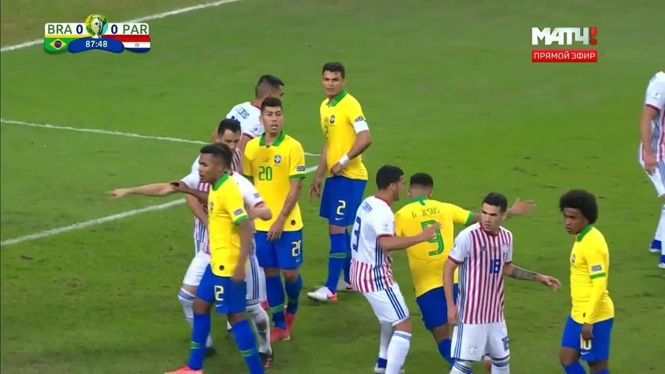 Прямой эфир футбол бразилия бавария