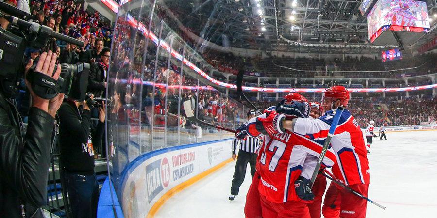 ЦСКА выиграл стартовый матч Кубка Гагарина. Голы и лучшие моменты