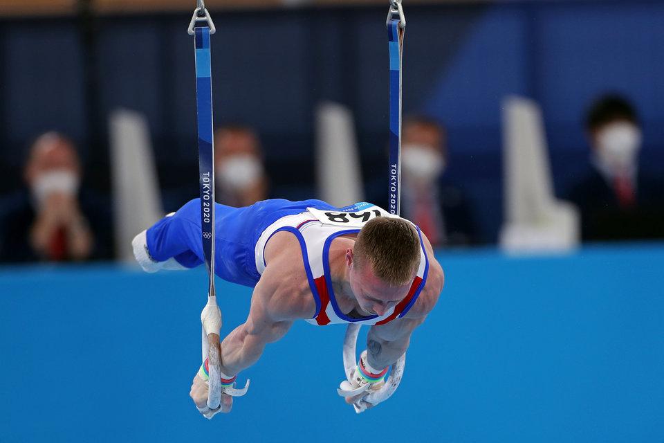 Аблязин остался без медалей в упражнениях на кольцах. Золото и серебро в активе китайской сборной