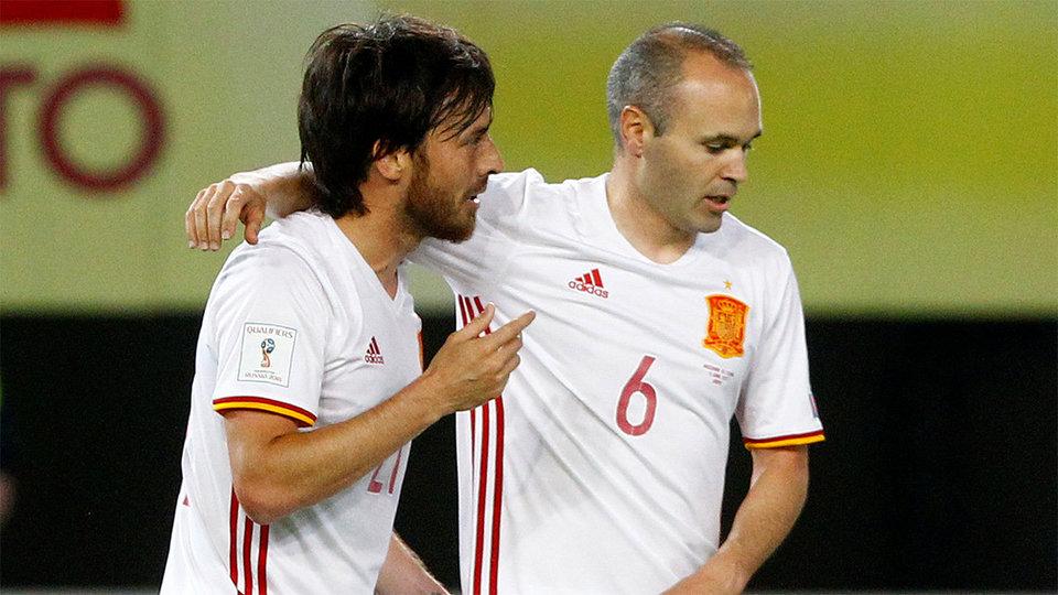 Испания победила в Македонии, Уэльс сыграл вничью с Сербией
