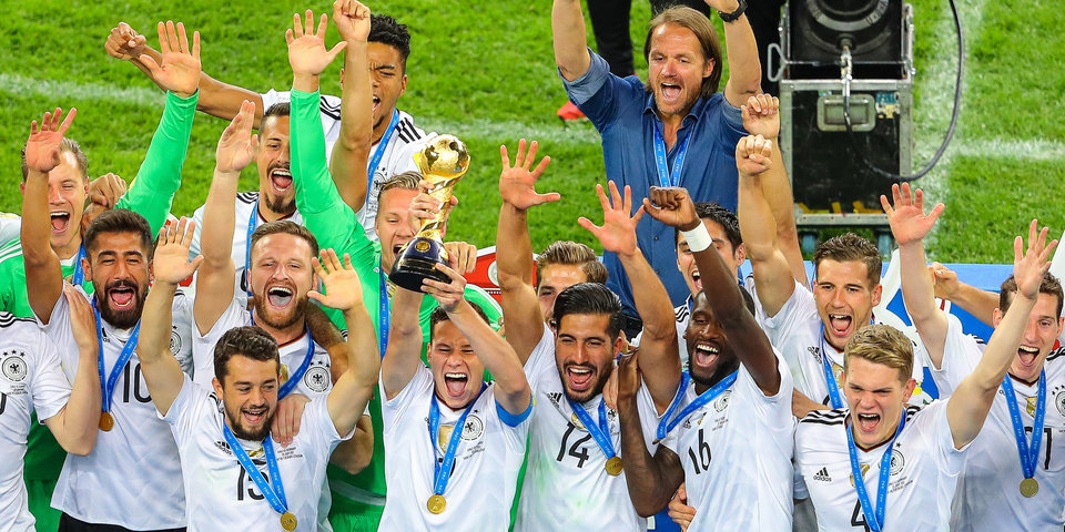 Сборная Германии – победитель Кубка конфедераций в России