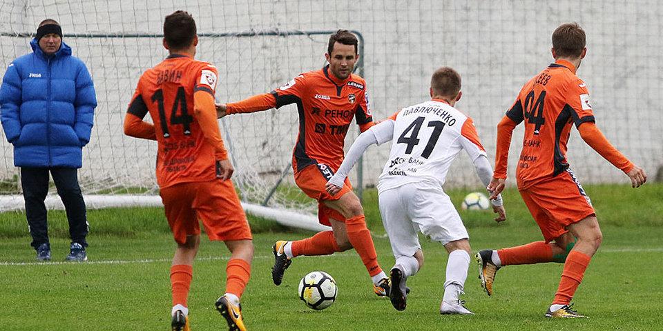 Молодежный «Урал» не смог выиграть в 9-м матче подряд