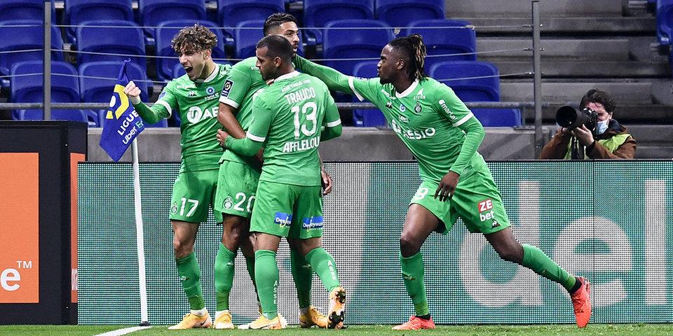«Сент-Этьен» одержал волевую победу над «Монпелье»