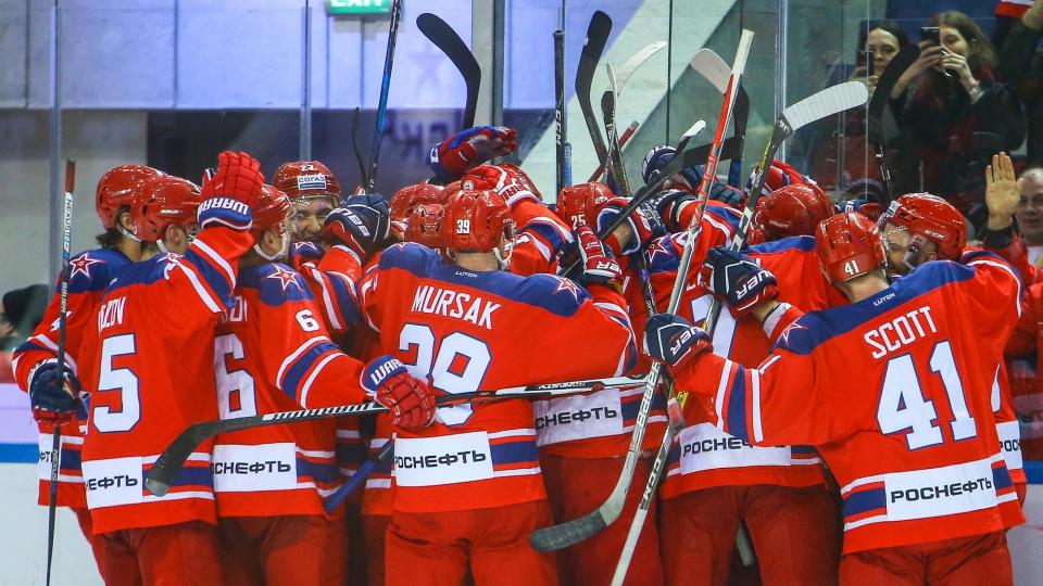 ЦСКА отправил 4 безответные шайбы в ворота «Амура»