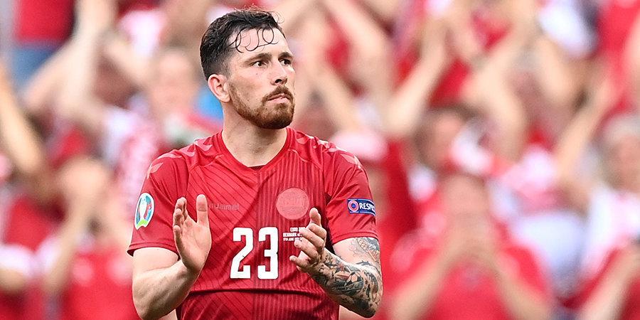 Дания — первая сборная в истории Евро, забившая 4 гола в двух матчах подряд