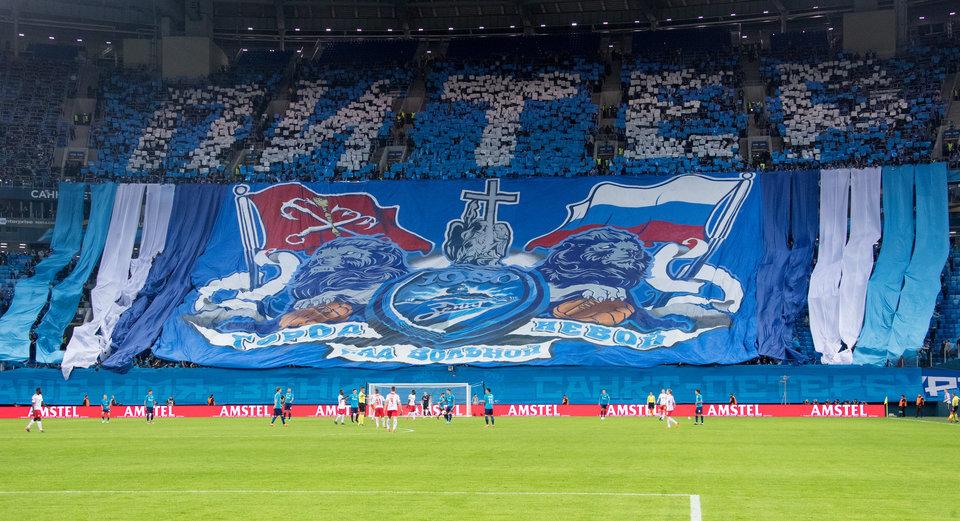 УЕФА наказал «Зенит» домашним матчем без зрителей, а также оштрафовал ЦСКА