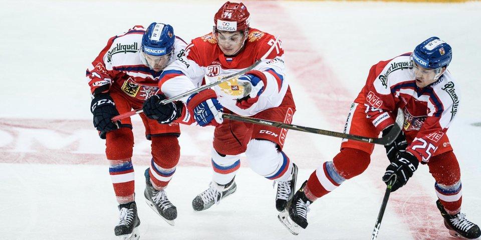 Россия побеждает Чехию