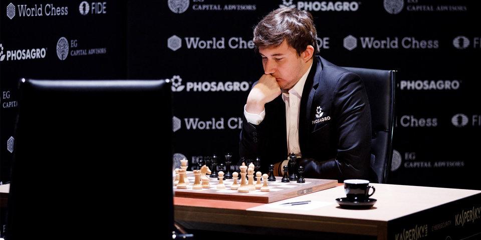 Карякин переиграл Ароняна на турнире претендентов