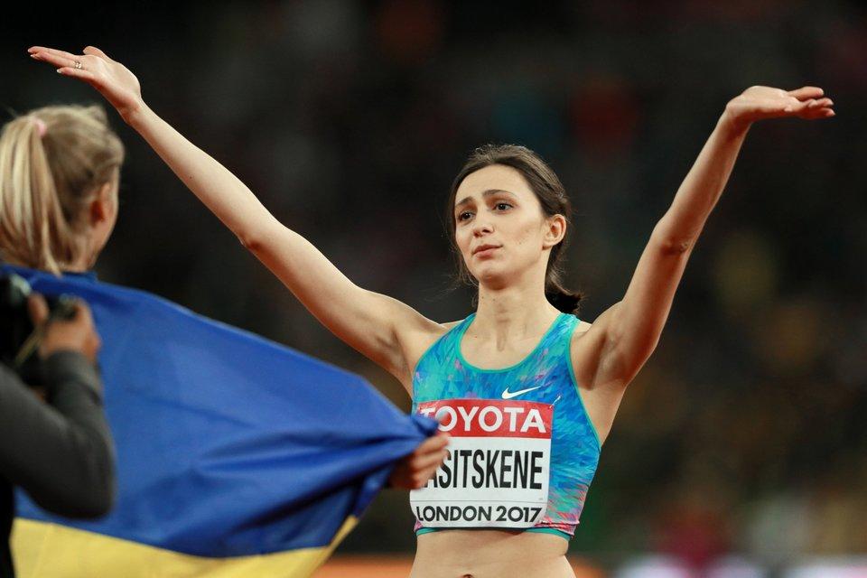 Ласицкене номинирована на звание лучшей легкоатлетки Европы в 2018 году