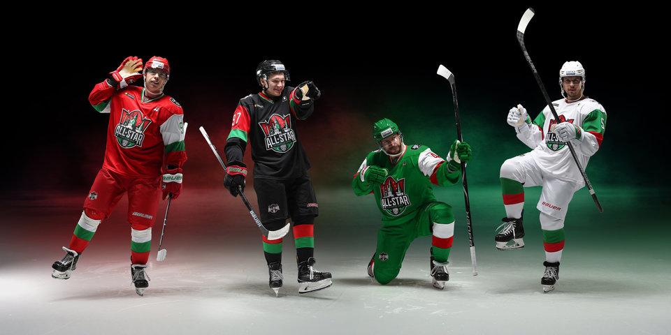 КХЛ представила экипировку Недели звезд хоккея-2019