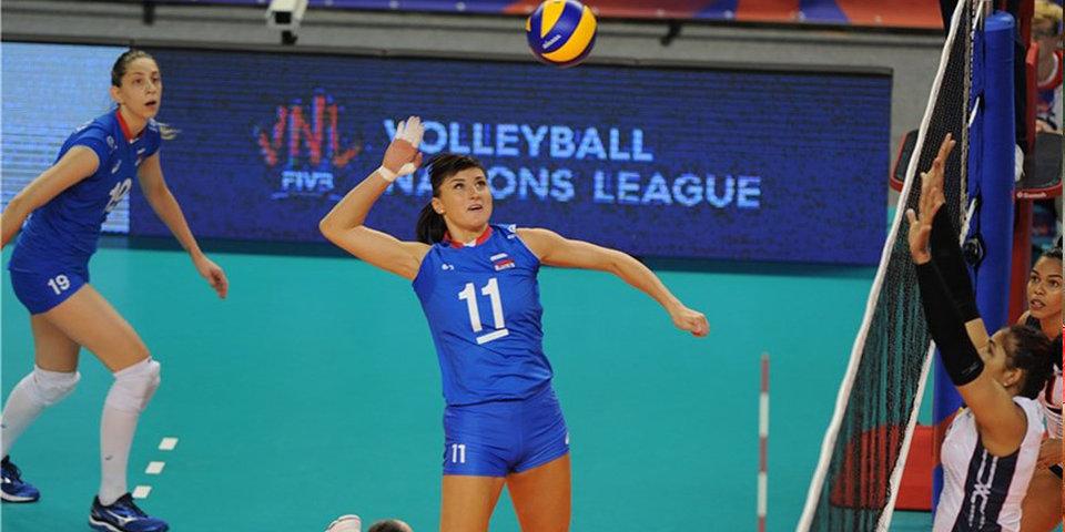 Российские волейболистки остались без «Финала шести» Лиги наций