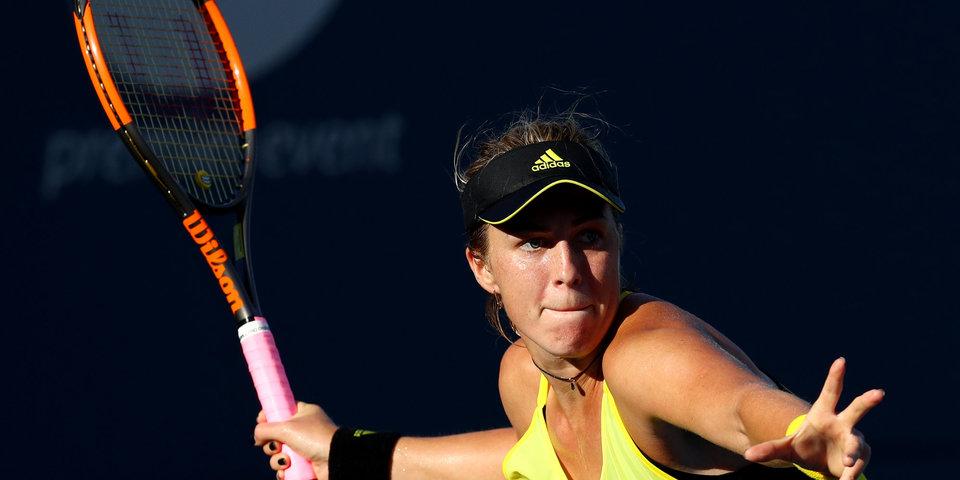 Павлюченкова обыграла 11-ю ракетку мира и вышла в третий круг турнира в Китае