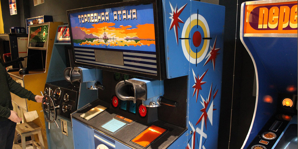 В Музее советских игровых автоматов в Москве проходит выставка легендарных видеоигр 90-х