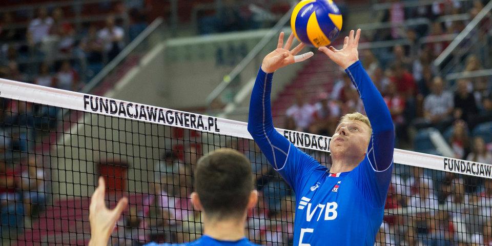 Российские волейболисты уступили сербам в матче чемпионата мира