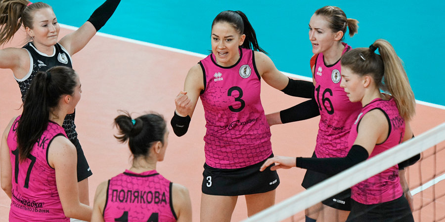 «Ленинградка» переиграла «Минчанку» в четырех партиях, а «Спарта» — «Заречье-Одинцово»