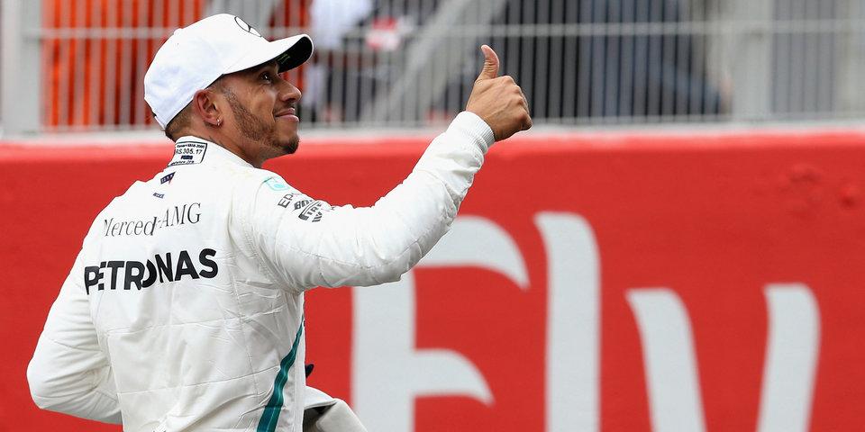 Хэмилтон выиграл квалификацию Гран-при Великобритании