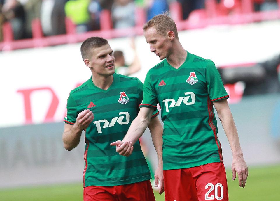 «Локомотив» отправился на матч за Суперкубок на МЦК