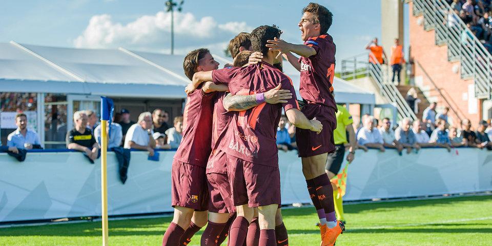 «Сити» и «Барса» забили 9 мячей в полуфинале Юношеской лиги УЕФА