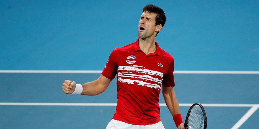 Надаль и Федерер выступили против новой теннисной организации во главе с Джоковичем