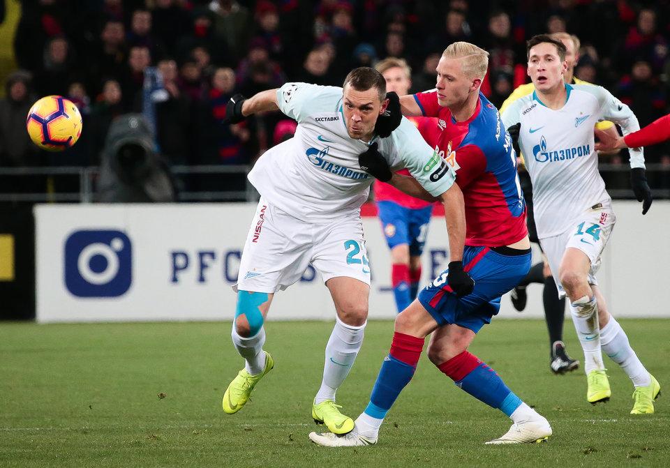 Защитник ЦСКА Магнуссон мог стать игроком «Зенита»
