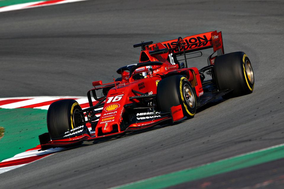 «Феррари» представит новый двигатель на Гран-при Испании