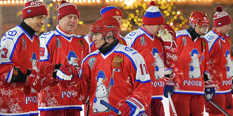 Фетисов надеется, что Путин сыграет в хоккей на Северном полюсе