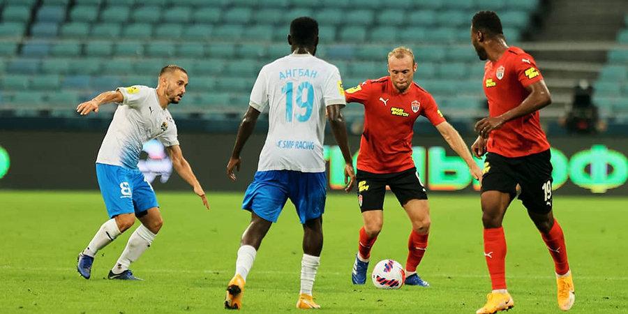 Дубль Попова помог «Сочи» разгромить «Химки»