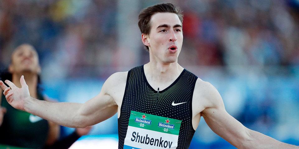 Шубенков стал первым в забеге на 110 метров с барьерами на этапе «Бриллиантовой лиги»