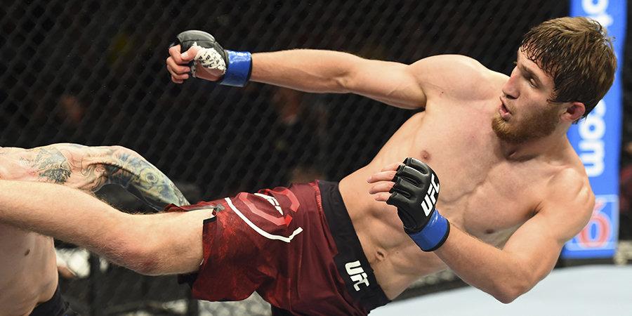 Саид Нурмагомедов проиграл на турнире UFC в Корее