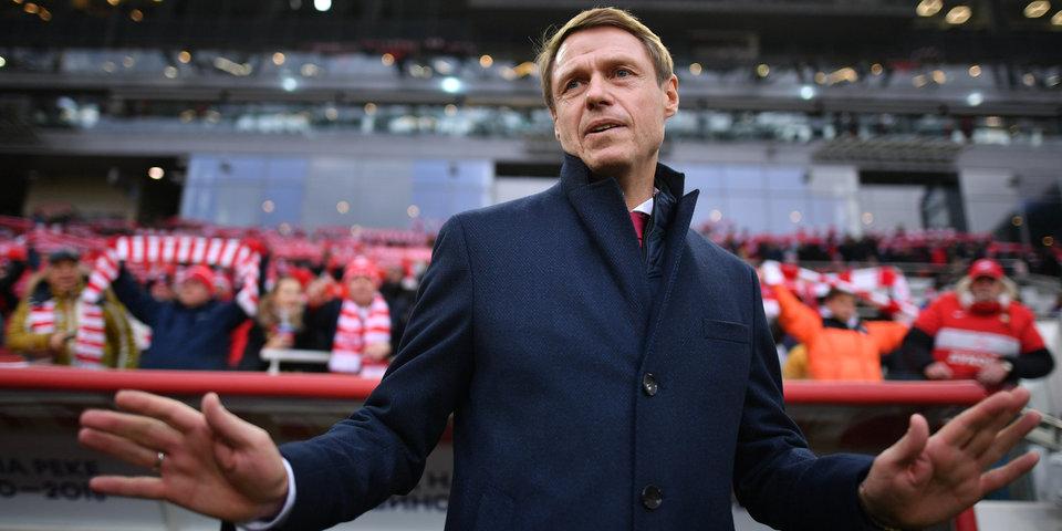 Кононов рассказал о трансферных планах «Спартака»