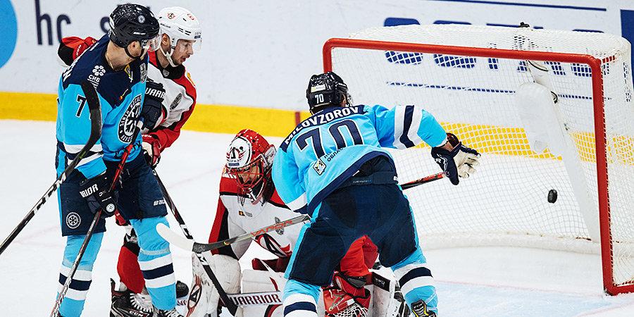 «Сибирь» обыграла «Автомобилист» и находится в шаге от четвертьфинала Кубка Гагарина