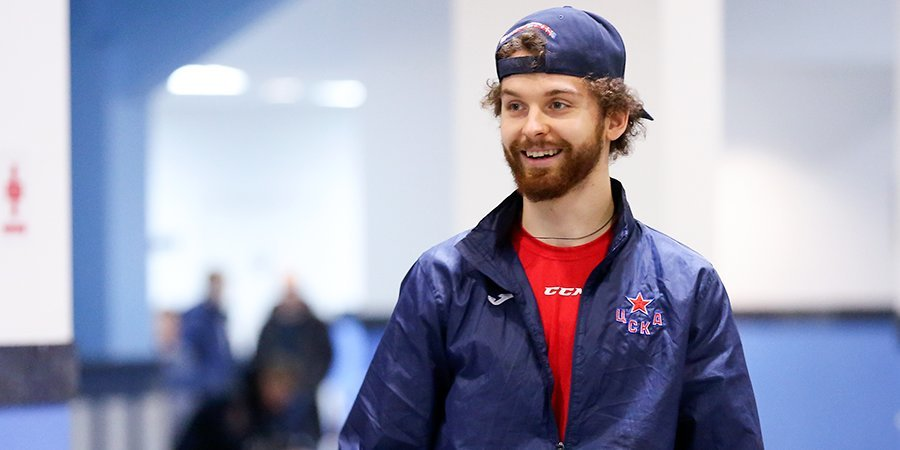 ЦСКА пожелал удачи Сорокину в «Айлендерс»
