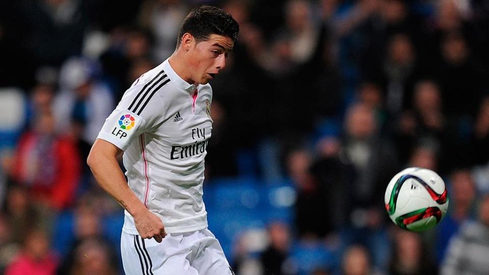 «МЮ» объявит о трансфере Хамеса Родригеса из «Реала» в воскресенье