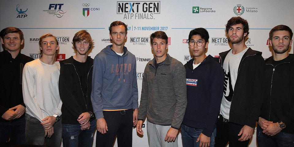 Будущие суперзвезды мирового тенниса