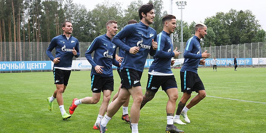 «Зенит» назвал стартовый состав на товарищеский матч против «Левски»