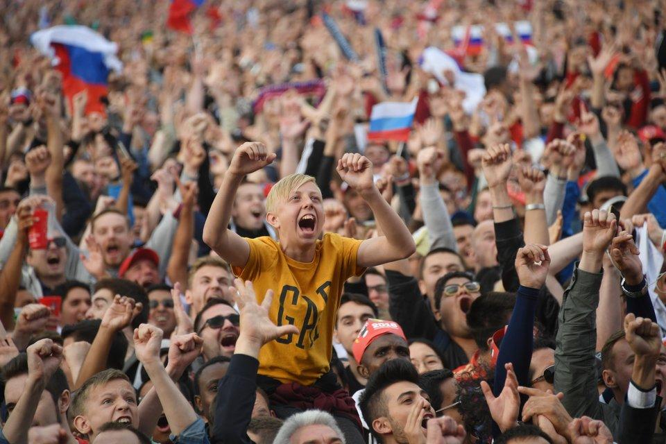 Фестиваль болельщиков ФИФА посетили более 1 миллиона человек