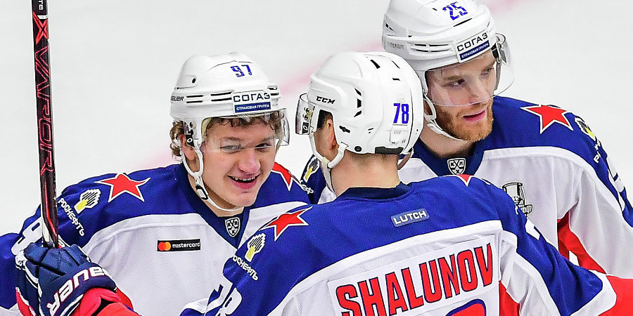 ЦСКА довел победную серию до шести матчей, обыграв «Металлург»
