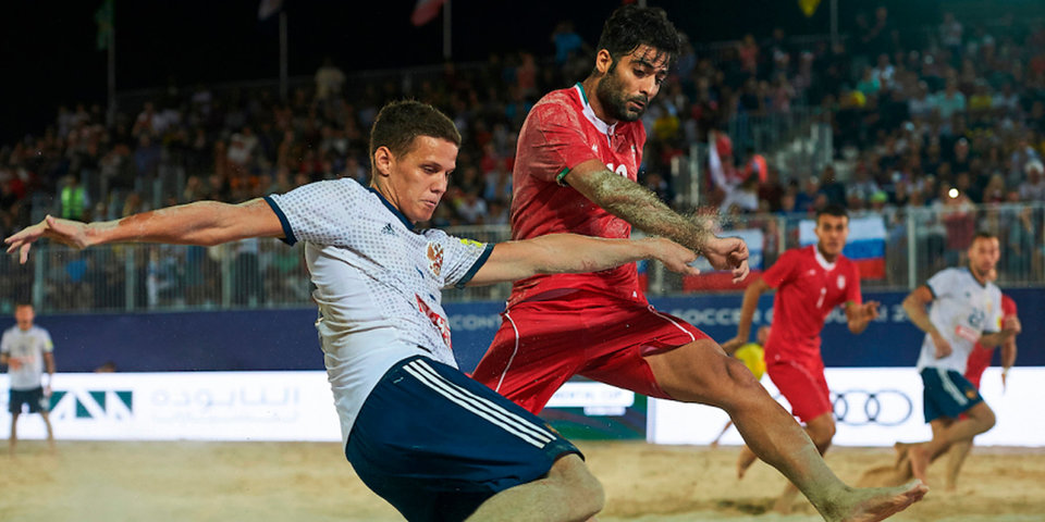 Пляжный футбол. Российская Федерация сыграет сБразилией вполуфинале Межконтинентального кубка