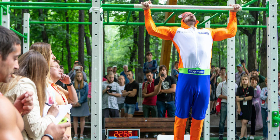 Атлет из России побил рекорд Книги Гиннесса