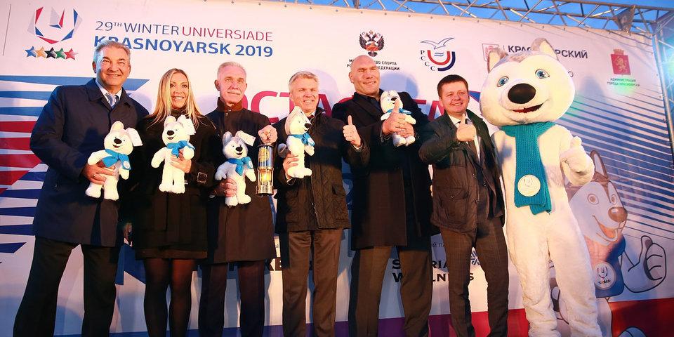 В Ульяновске прошла презентация эстафеты огня Универсиады-2019