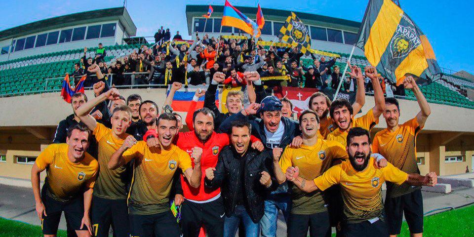 «Арарат» отправил 4 мяча в ворота «Сокола»