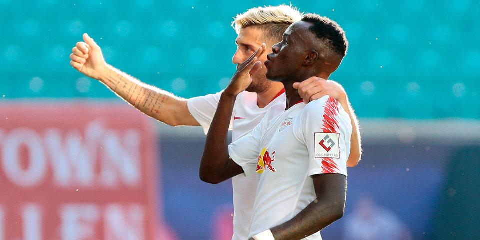 «Лейпциг» обыграл менхенгладбахскую «Боруссию и довел беспроигрышную серию до 12 матчей