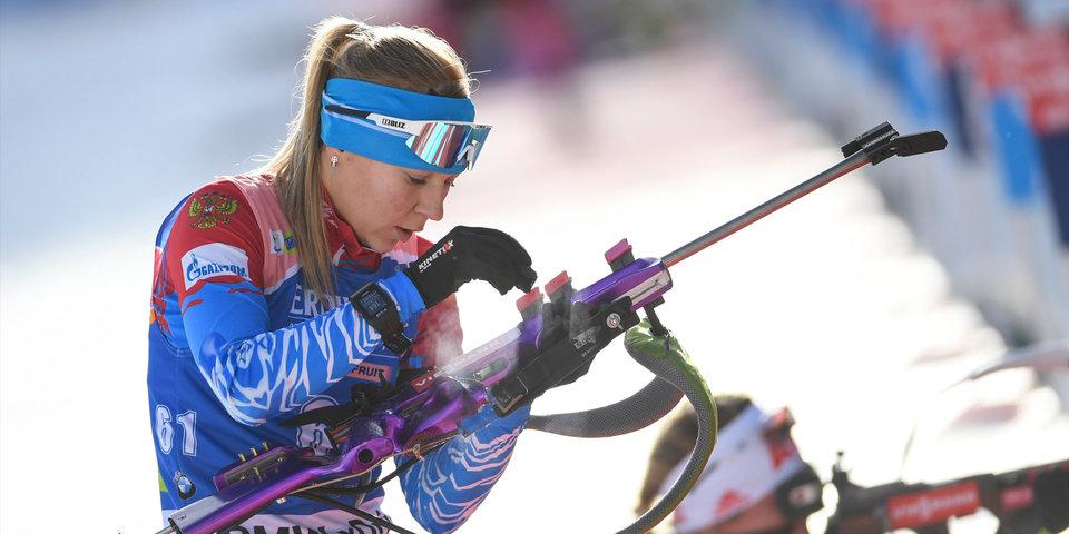 Стал известен состав женской сборной России на эстафету