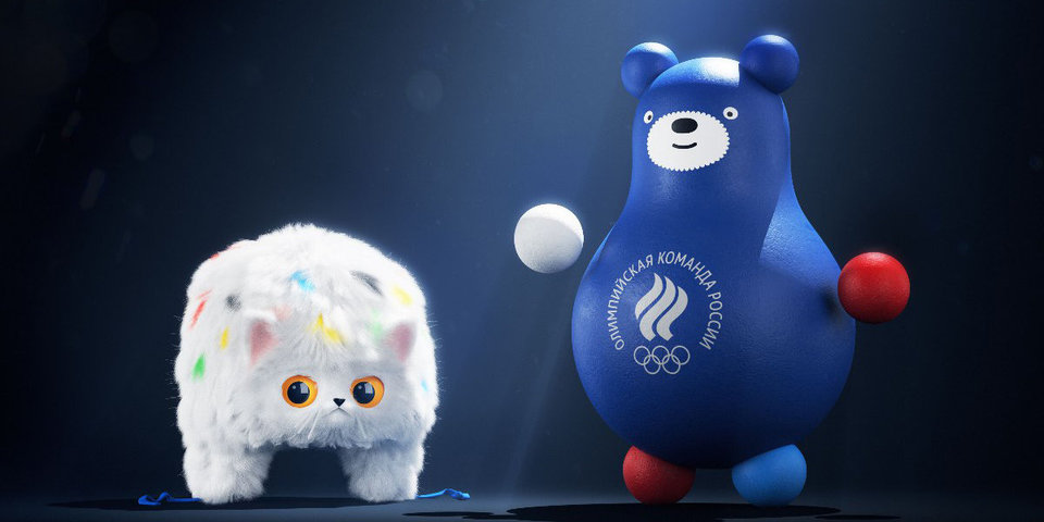 Кот-ушанка и медведь-неваляшка. «Команда России» обрела талисманов в прямом эфире «Матч ТВ»