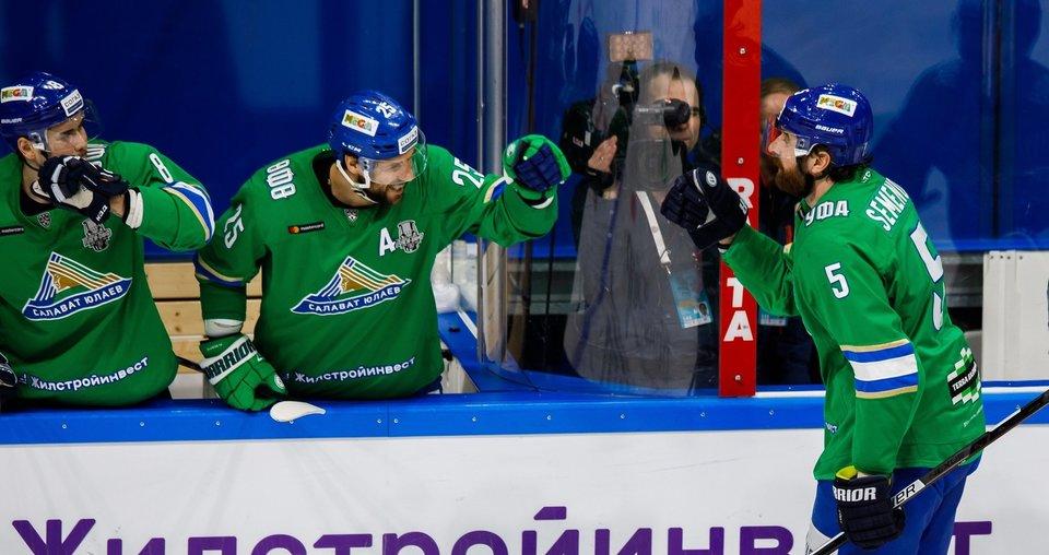 «Салават Юлаев» объявил об уходе Кугрышева, Семенова и Жаркова