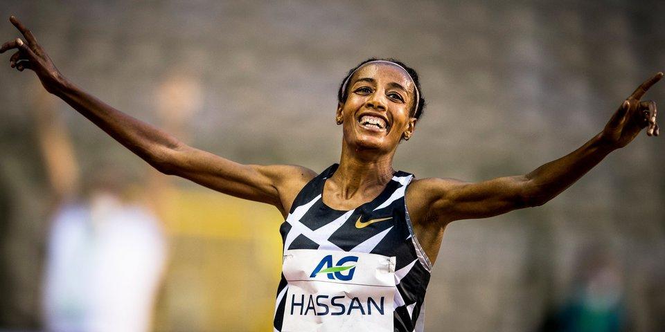 Голландка Хассан взяла золото ОИ-2020 в беге на 5 тысяч метров