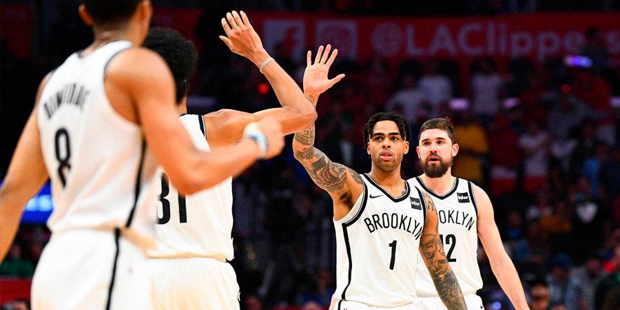 У четверых баскетболистов «Бруклина» диагностирован коронавирус