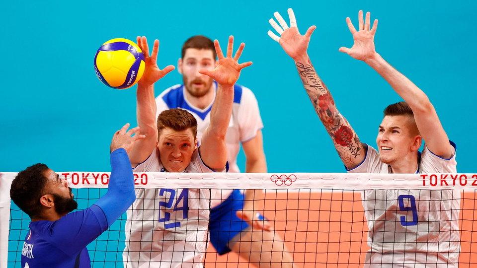 Российские волейболисты сыграют с Францией в финале Олимпийских игр
