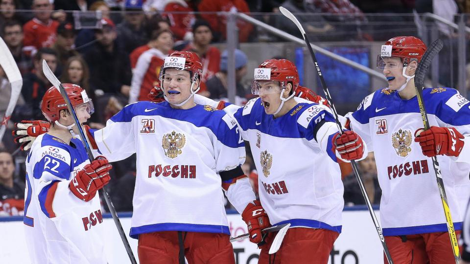 Сборная России победила Данию и вышла в полуфинал чемпионата мира